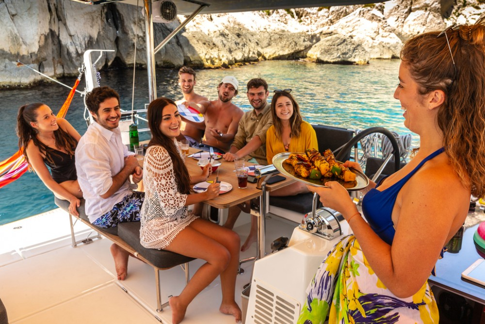 Boat rental Jeanneau Sun Loft 47 - 6+1 cab. in Peloponnese on Samboat