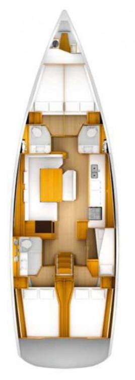 Rental yacht Croatia - Jeanneau Sun Odyssey 509 - 5 + 1 cab. on SamBoat