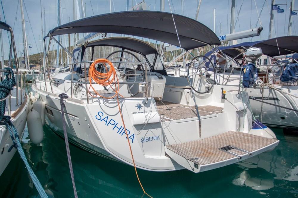 Jeanneau Sun Odyssey 509 - 5 + 1 cab. between personal and professional Croatia