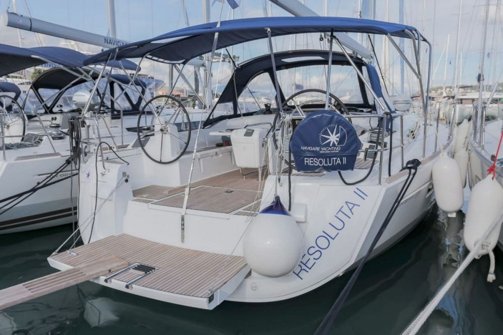 Jeanneau Sun Odyssey 519 between personal and professional Seget Donji