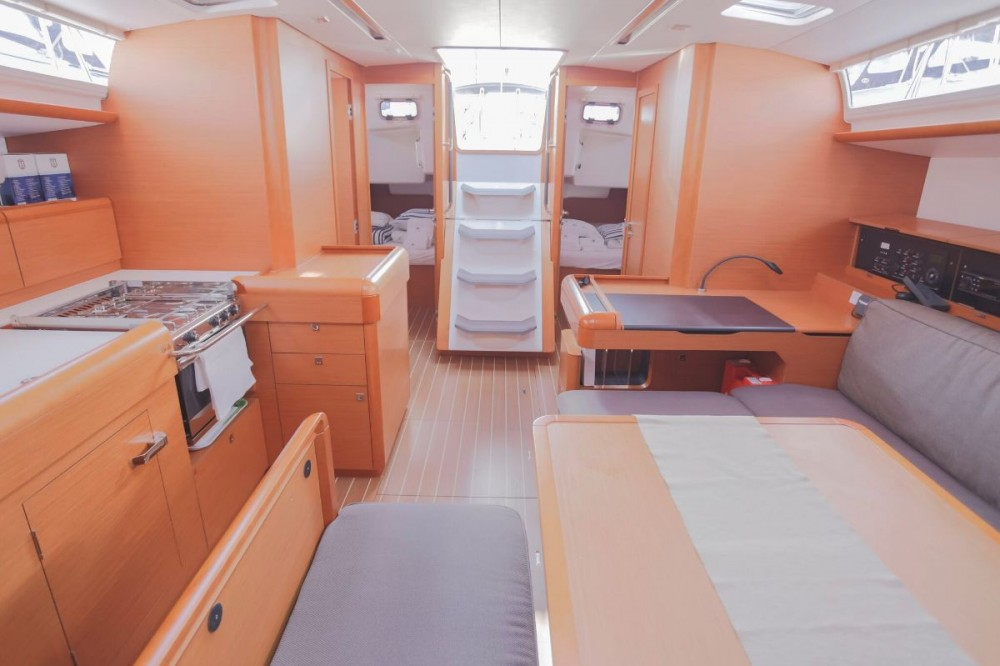 Rental Sailboat in Croatia - Jeanneau Sun Odyssey 519