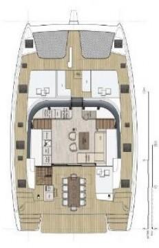 Boat rental Sunreef Sunreef 50 - 5 + 1 cab. in Seget Donji on Samboat