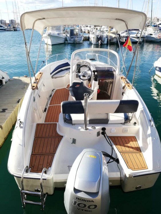 Hire Motor boat with or without skipper Quicksilver Torrevieja