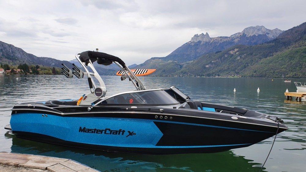 Hire Motor boat with or without skipper Mastercraft Port de Doussard