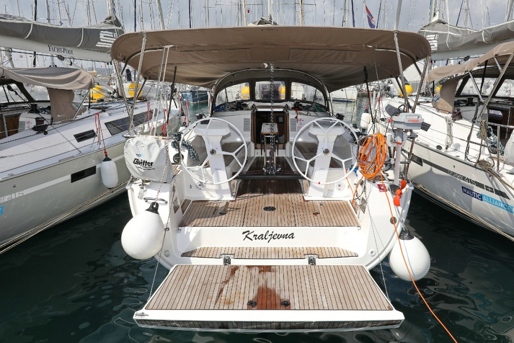 Boat rental Croatia cheap Cruiser 41 S