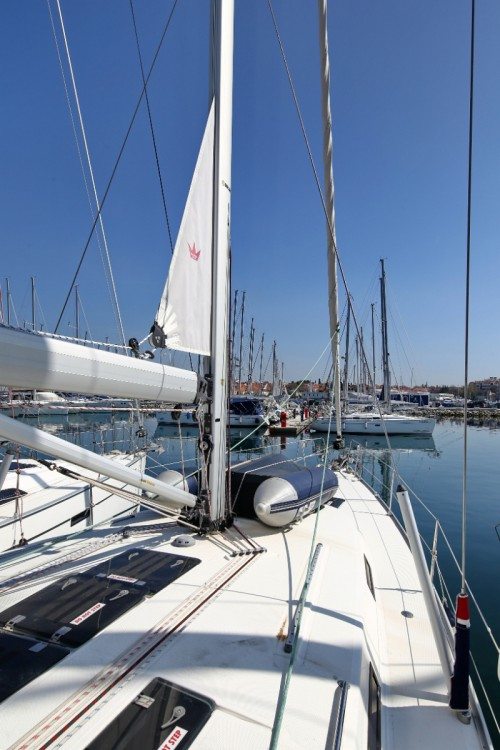 Bavaria Cruiser 45 between personal and professional Croatia