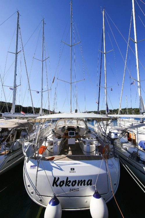 Rental Sailboat in Grad Pula - Bavaria Cruiser 45