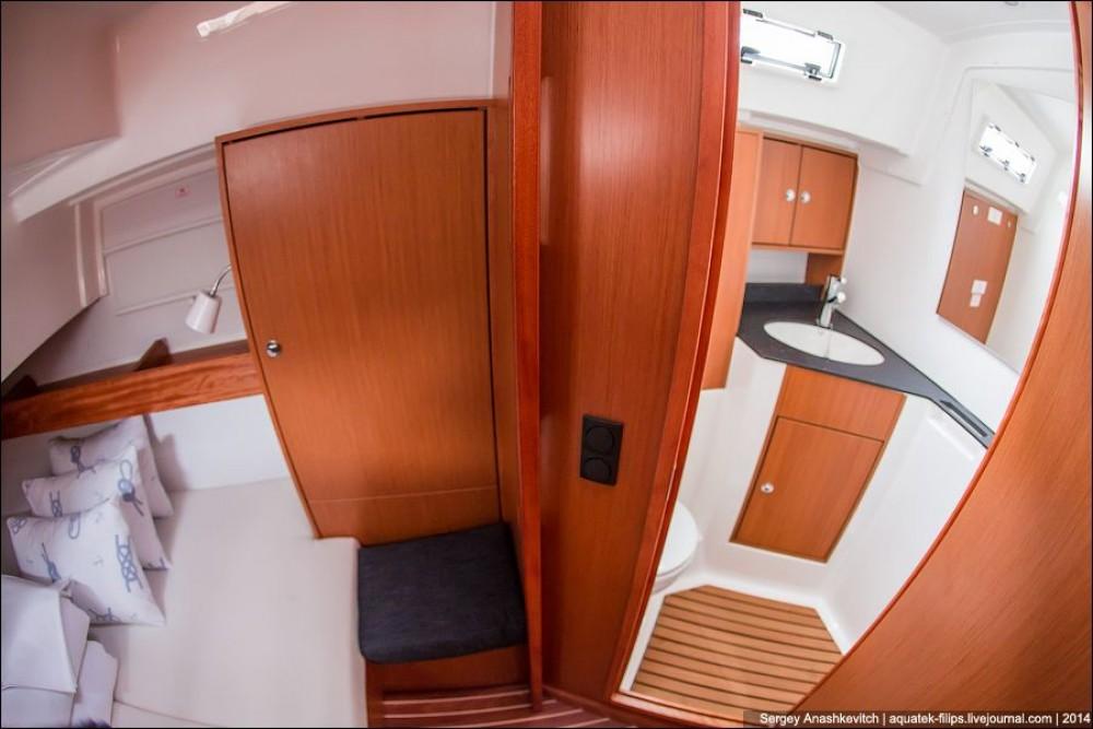 Bavaria Cruiser 45 between personal and professional Croatia