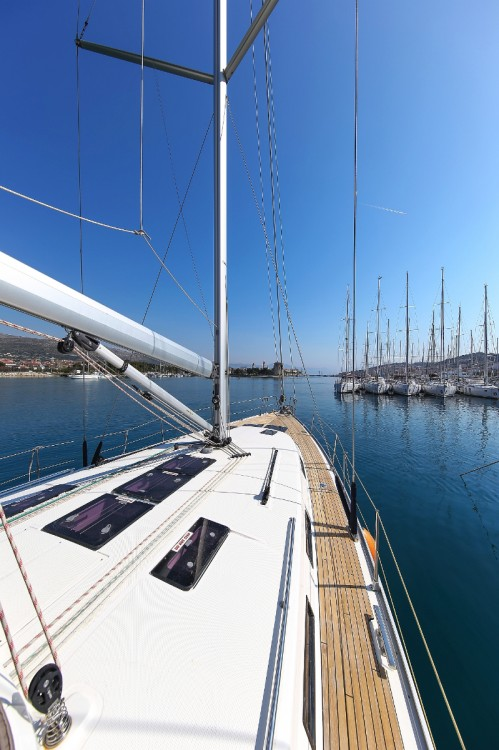 Boat rental Trogir cheap Cruiser 45
