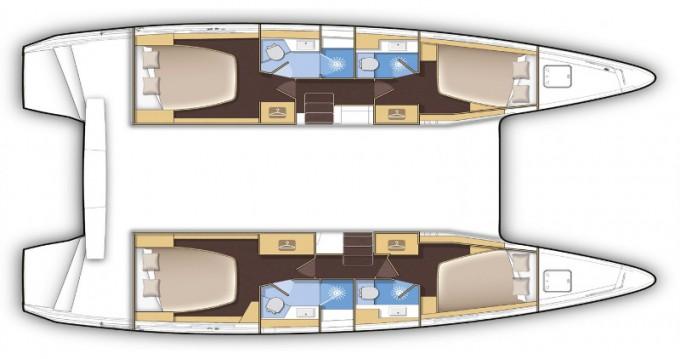 Rental Catamaran in Eden Island - Lagoon Lagoon 42