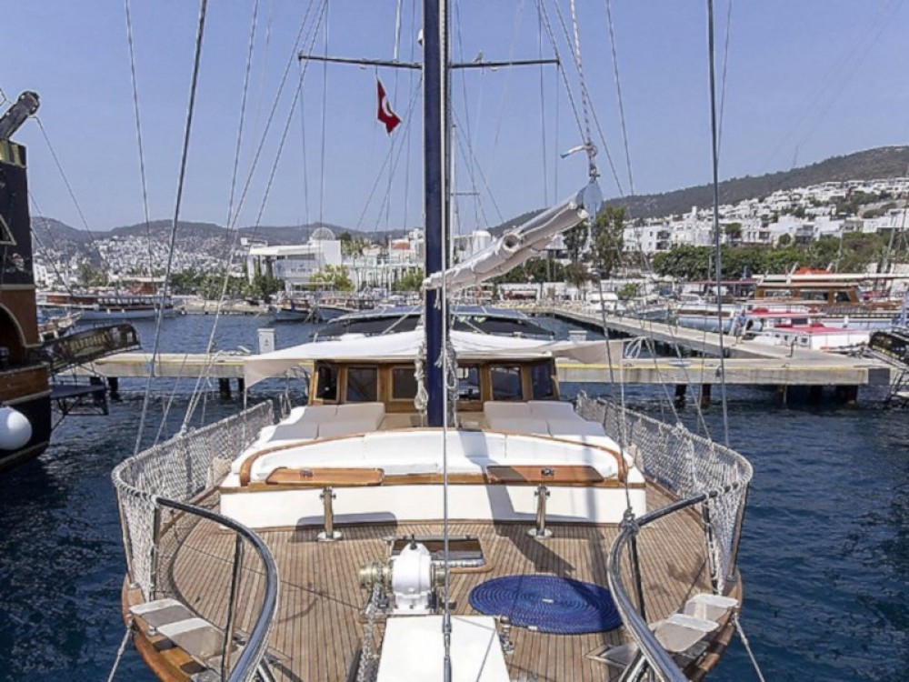 Gulet Karia between personal and professional Bodrum
