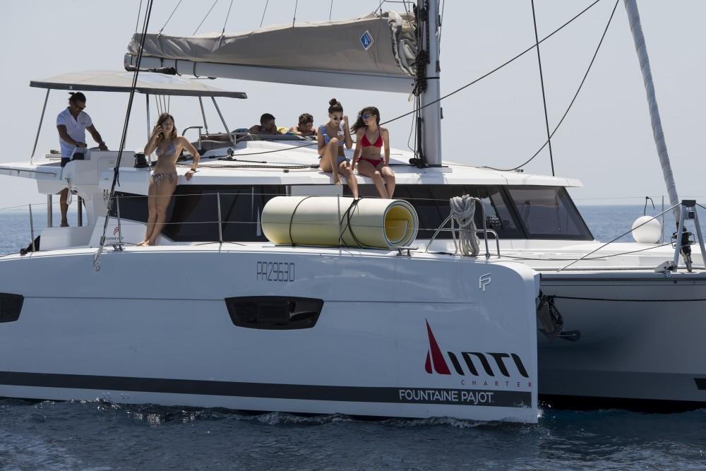 Rental Catamaran in Marsala - Fountaine Pajot Fountaine Pajot Astrea 42