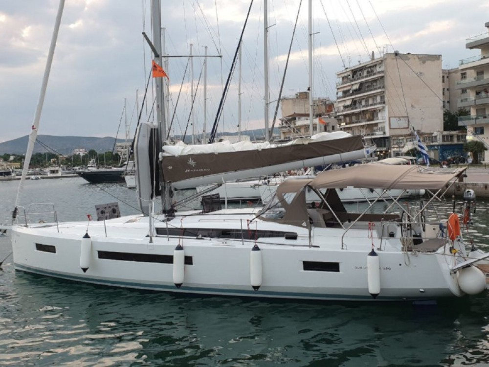 Jeanneau Sun Odyssey 490 between personal and professional Volos Municipality