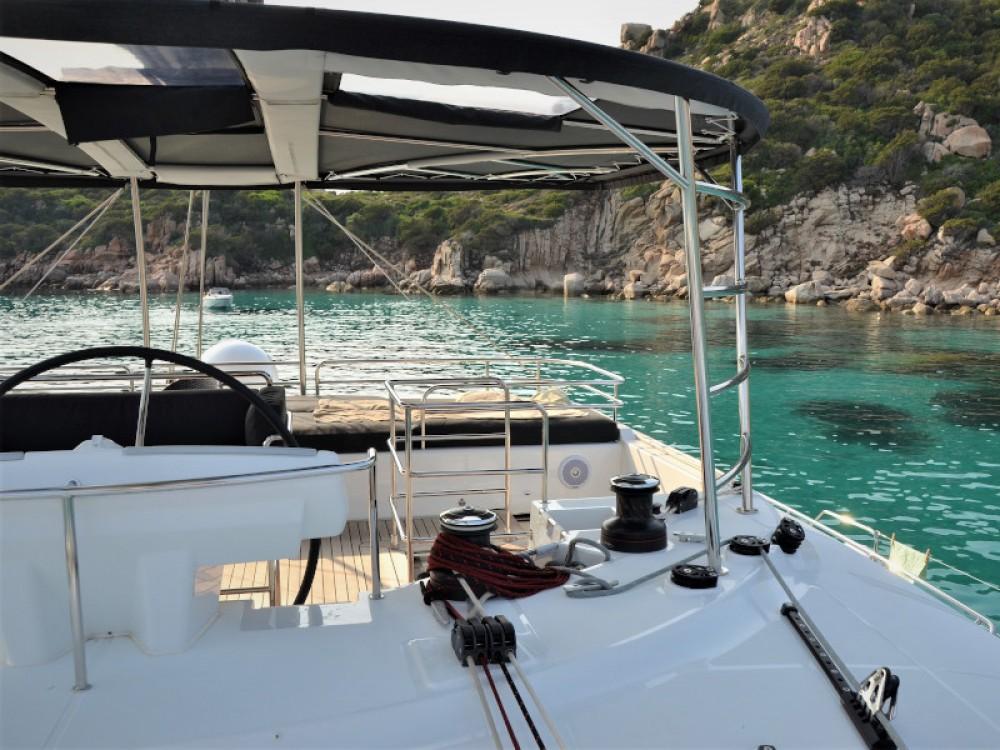 Catamaran for rent Marina di Portisco at the best price