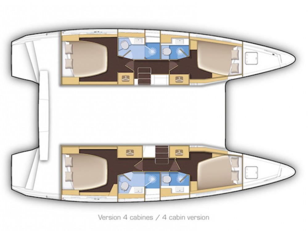 Rental yacht Cagliari - Lagoon Lagoon 42 on SamBoat