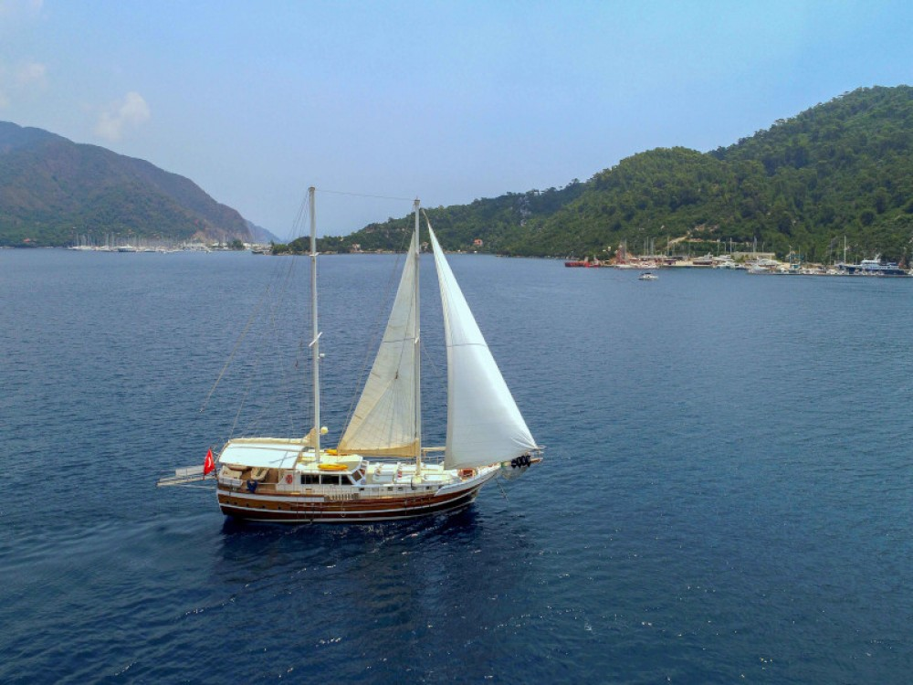 Gulet - Perla del Mar between personal and professional Marmaris