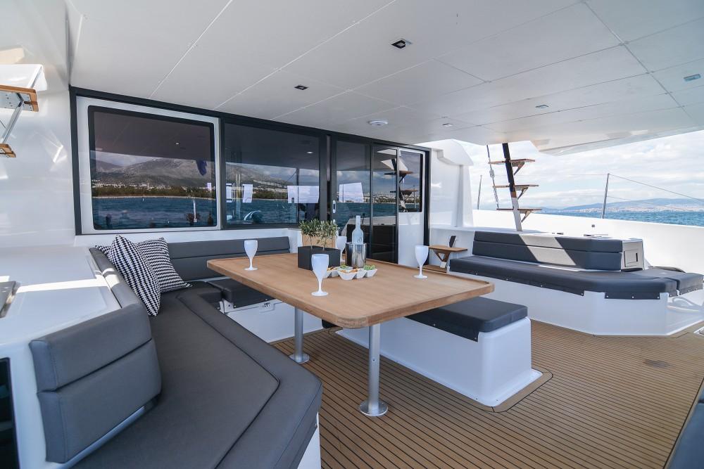 Boat rental Lefkada cheap Dufour 48 Catamaran