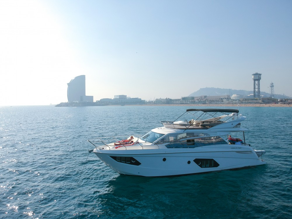 Boat rental  cheap Absolute 52 FLY