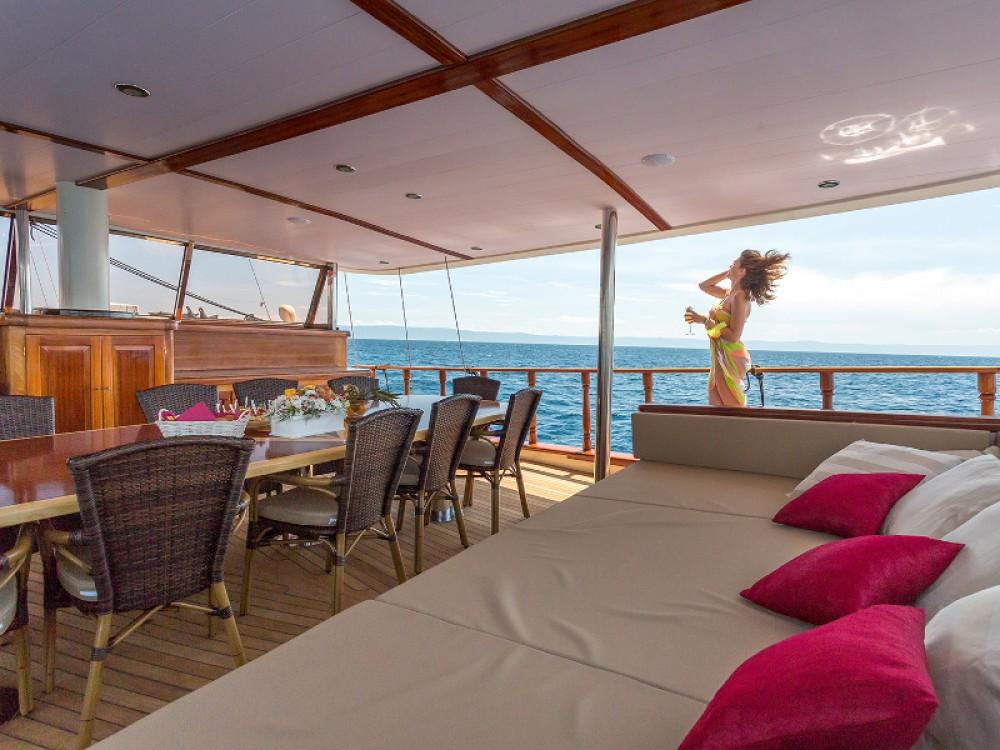 Rental Sailboat in Spalato -  Gulet 14-6