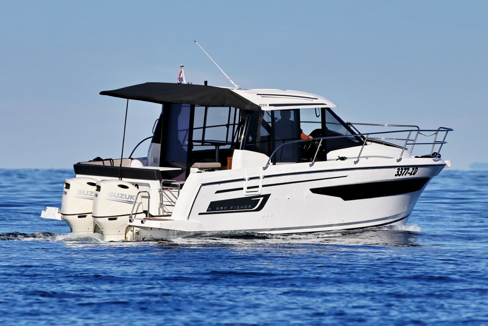 Rental Motor boat in D-Marin Borik - Jeanneau Merry Fisher 895