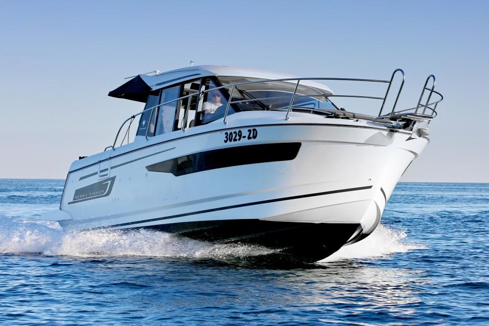 Rental Motor boat in Zadar - Jeanneau Merry Fisher 895