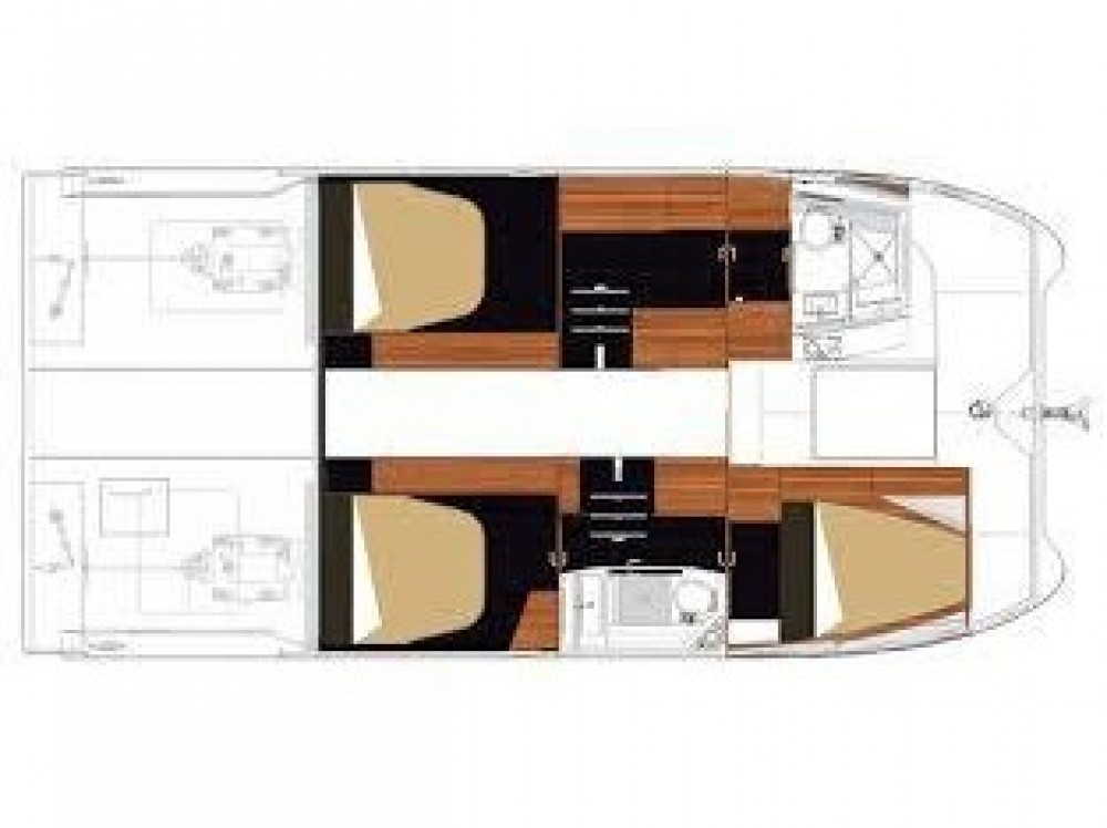 Boat rental  cheap Fountaine Pajot MY 37