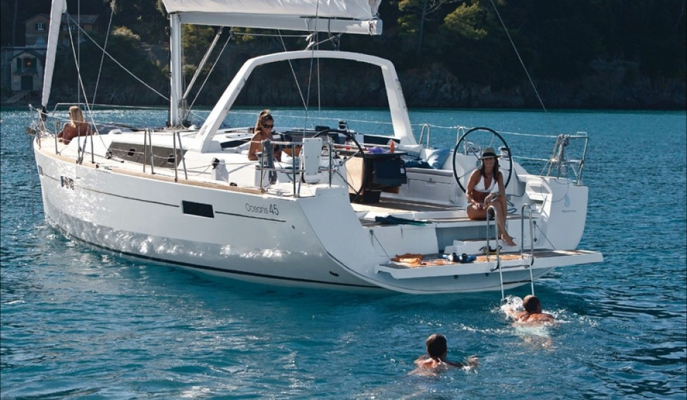 Rental Sailboat in Orhaniye - Bénéteau Oceanis 45 (2018)