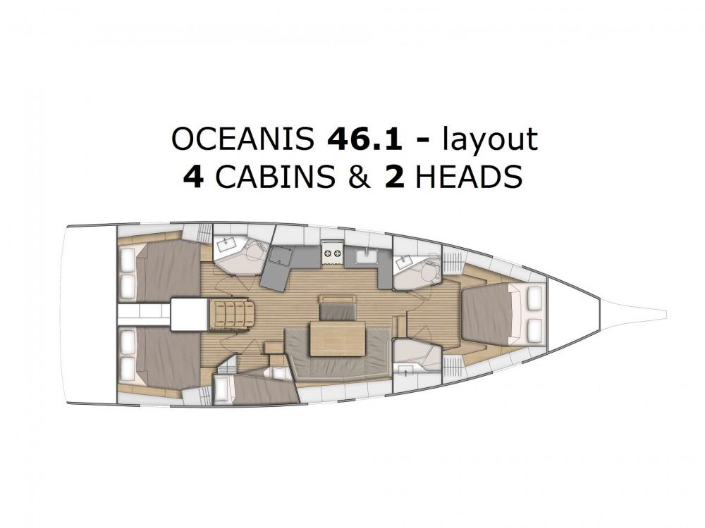 Rent a Bénéteau Oceanis 46.1 - owner's version ACI marina Pomer