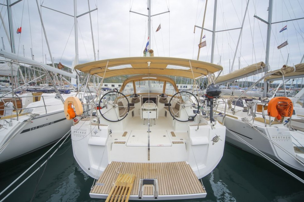 Jeanneau Sun Odyssey 519 between personal and professional Trogir