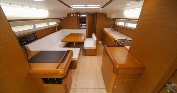 Boat rental Trogir cheap Sun Odyssey 519