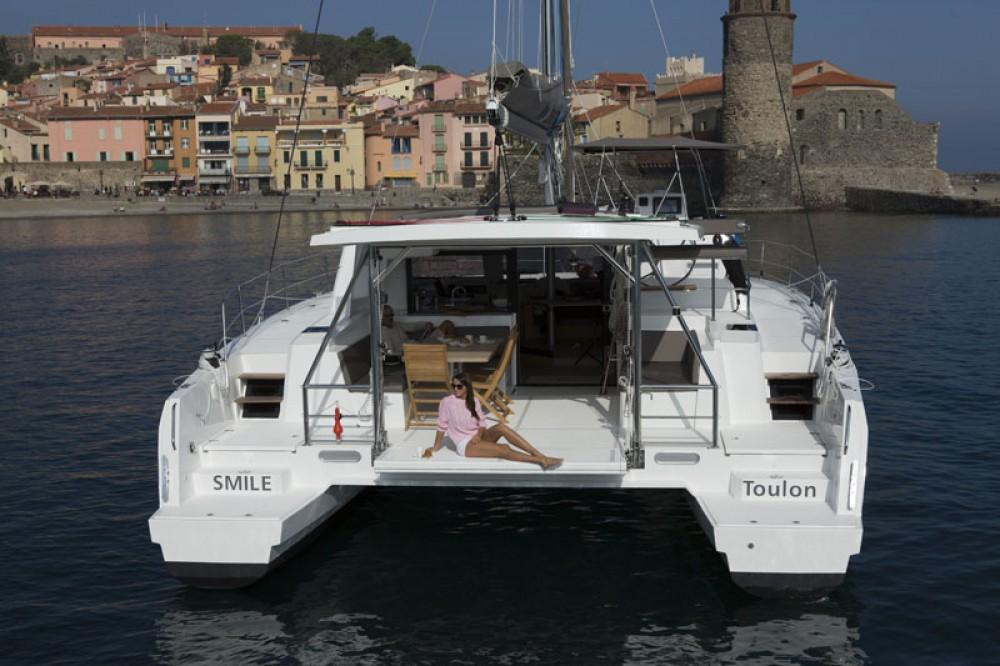 Rental Catamaran in Dubrovnik - Catana Bali 4.5