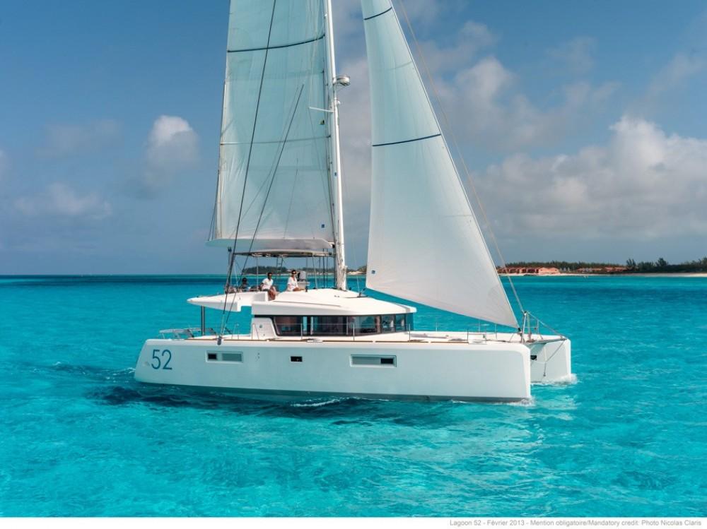 Rental Catamaran in Dubrovnik - Lagoon Lagoon 52