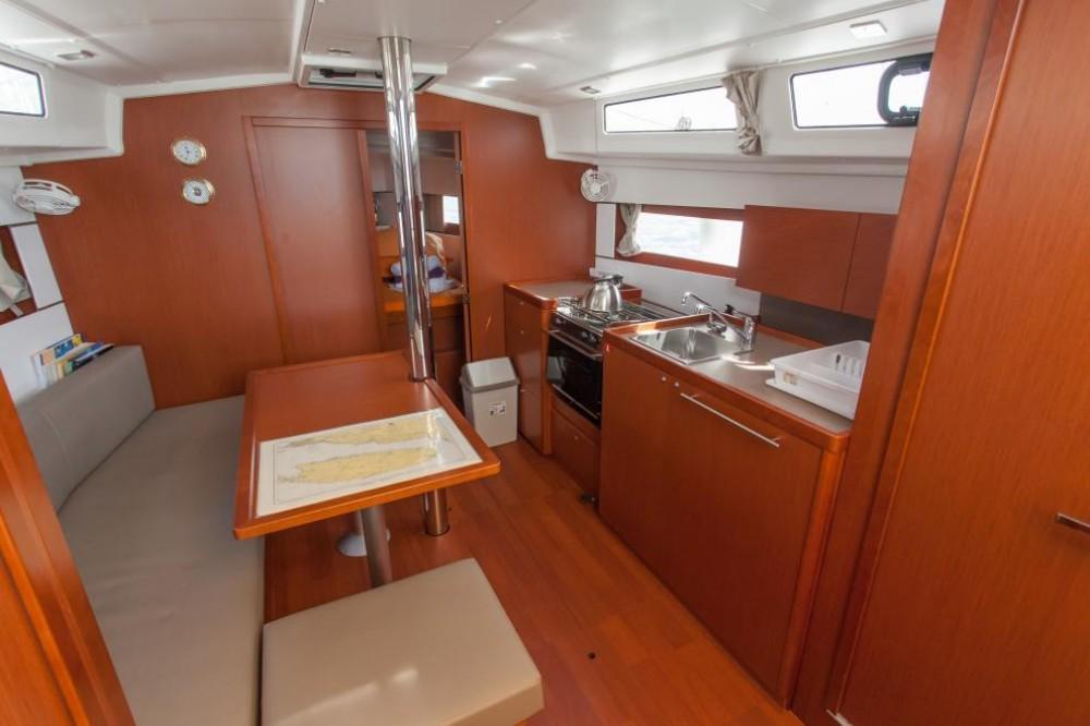 Boat rental Trogir cheap Oceanis 38