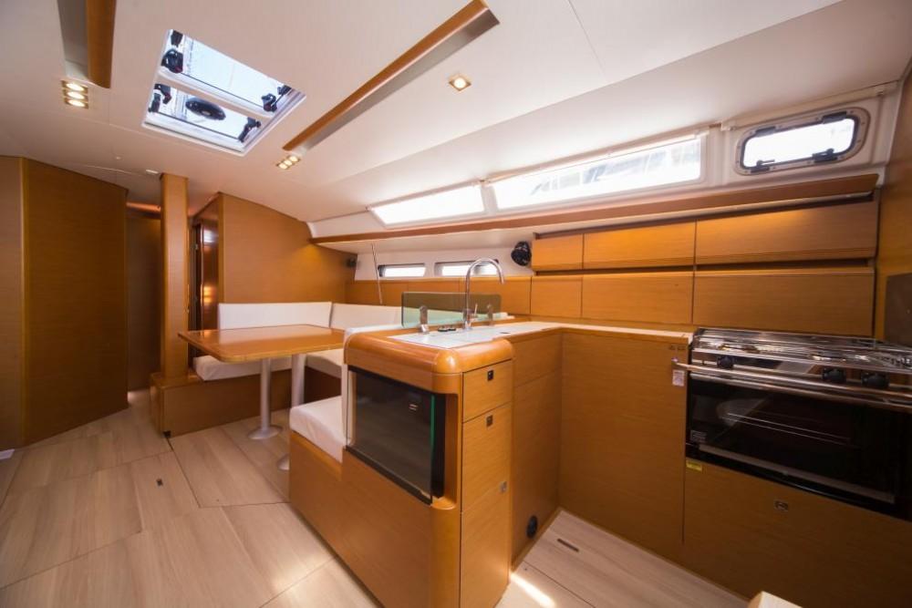 Boat rental Trogir cheap Sun Odyssey 449