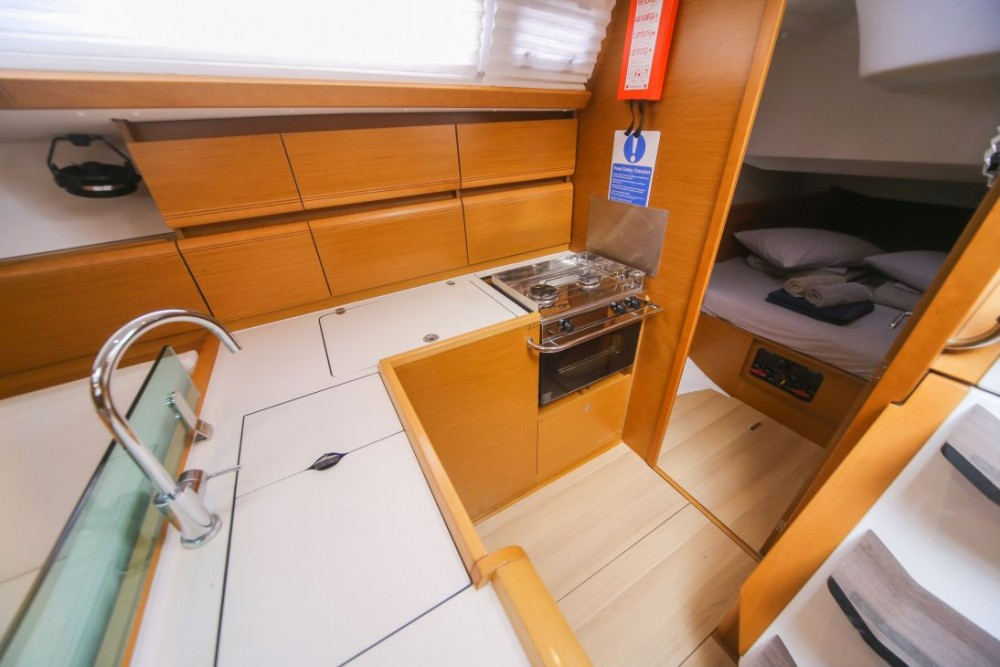 Jeanneau Sun Odyssey 449 between personal and professional Trogir