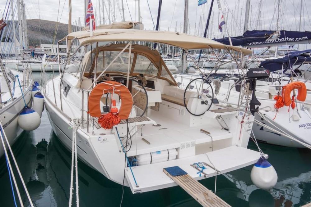 Boat rental Trogir cheap Dufour 382 Grand Large