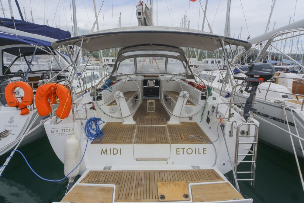 Rental yacht Traù - Hanse Hanse 445 on SamBoat