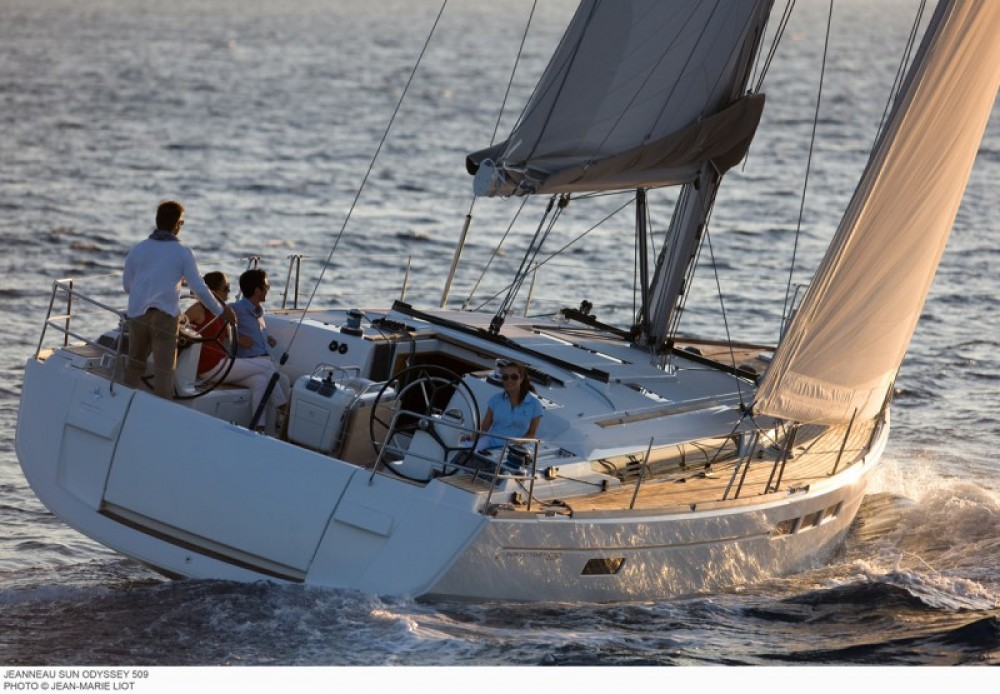 Rental yacht Dubrovnik - Jeanneau Sun Odyssey 509 on SamBoat