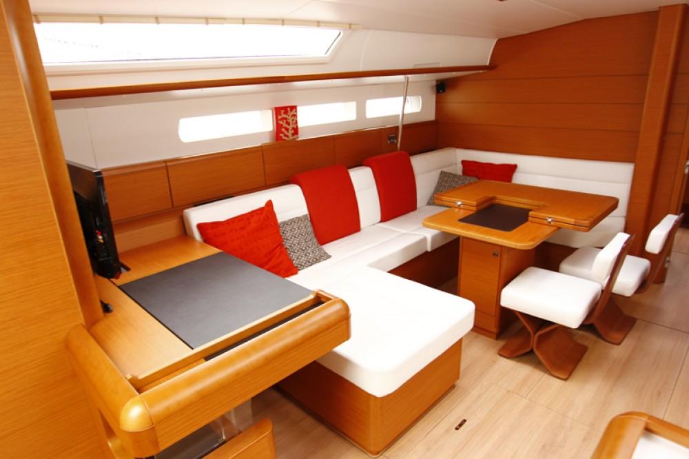 Boat rental Dubrovnik cheap Sun Odyssey 509
