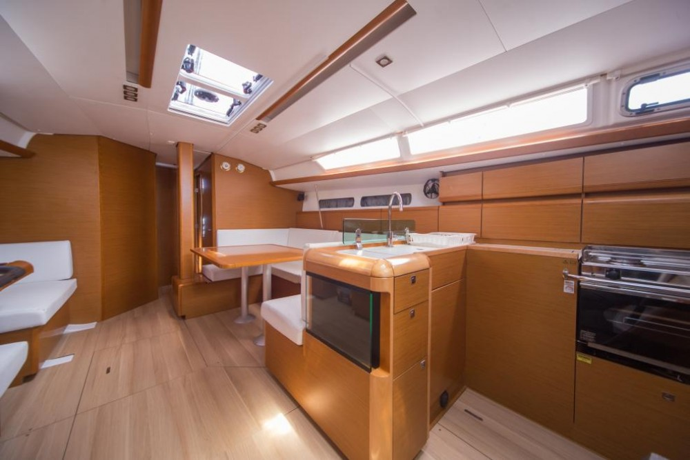 Jeanneau Sun Odyssey 449 between personal and professional Olbia