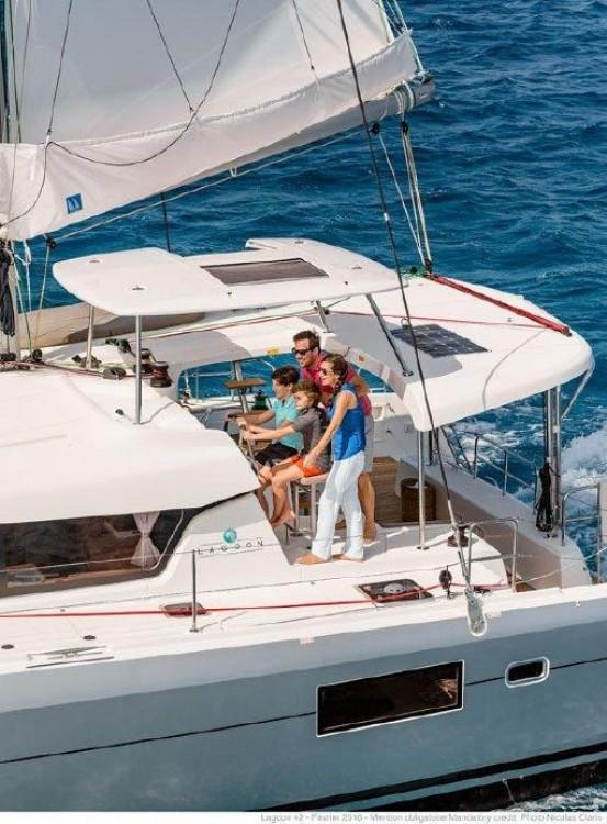 Rent a Lagoon Catamaran Lagoon 420 Road Town