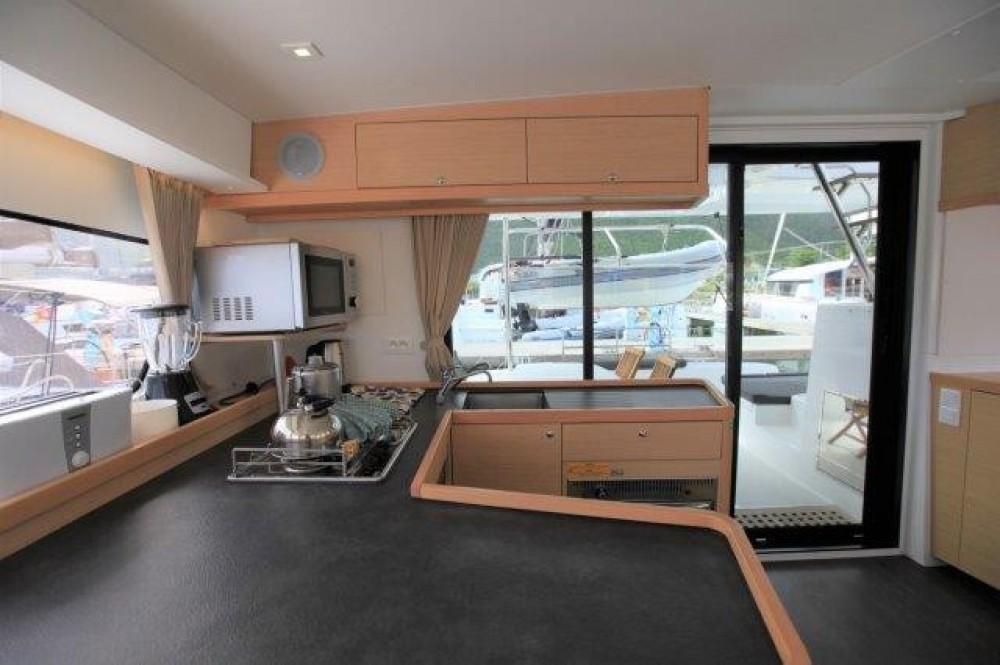 Boat rental Road Town cheap Lagoon 420