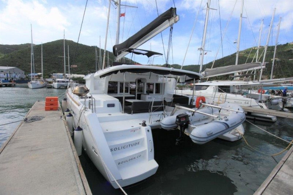 Boat rental  Lagoon 450 in Road Town on Samboat