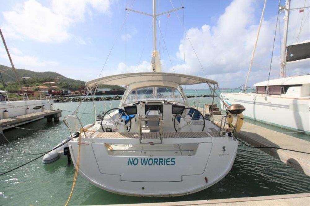 Boat rental Road Town cheap Oceanis 45