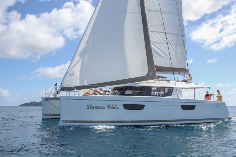 Rental Catamaran in Road Town -  Saba 50