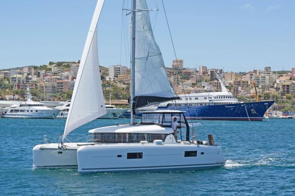 Rental yacht Peloponnese, West Greece and Ionian Sea - Lagoon Catamaran Lagoon 42 on SamBoat