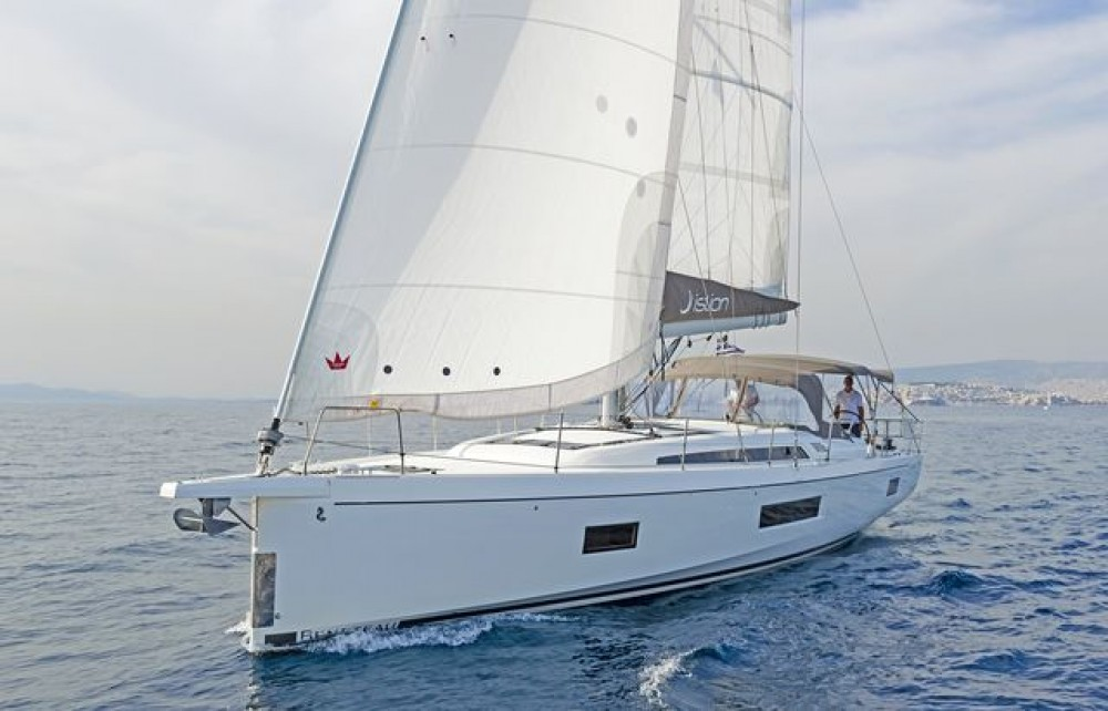 Rental Sailboat in Peloponnese, Western Greece and the Ionian -  Oceanis 51.1