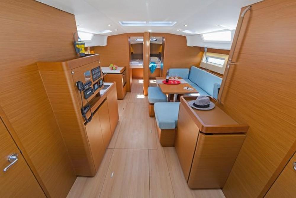 Rental Sailboat in Aegean -  Sun Odyssey 490