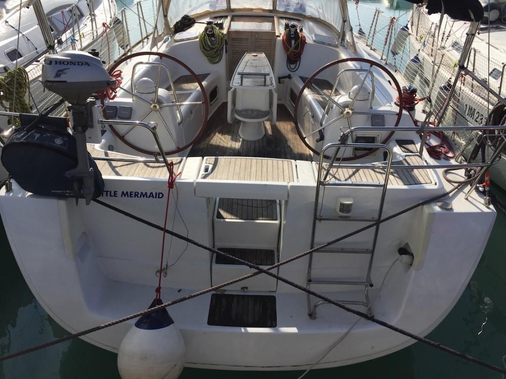Boat rental Olbia cheap Oceanis 43
