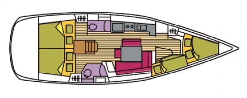 Rental yacht Olbia - Bénéteau Oceanis 43 on SamBoat